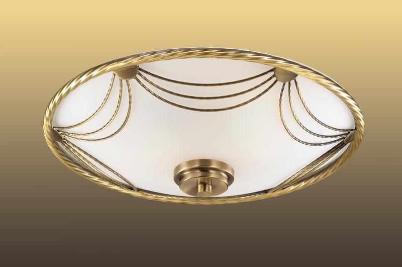 Sonex 2219 SN14 021 бронза/белый Потолочн E27 2*60W 220V SALVA накладной светильник sonex salva 1219