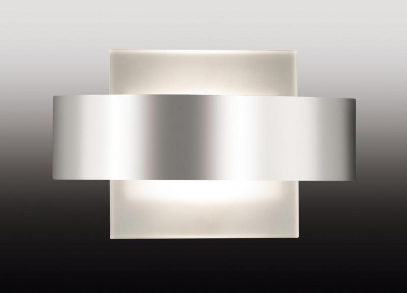 Odeon Light 2733/1W ODL15 808 хром/стекло Настенный светильник R7s 100W 220V GUFI odeon light настенный светильник odeon light gufi 2733 1w