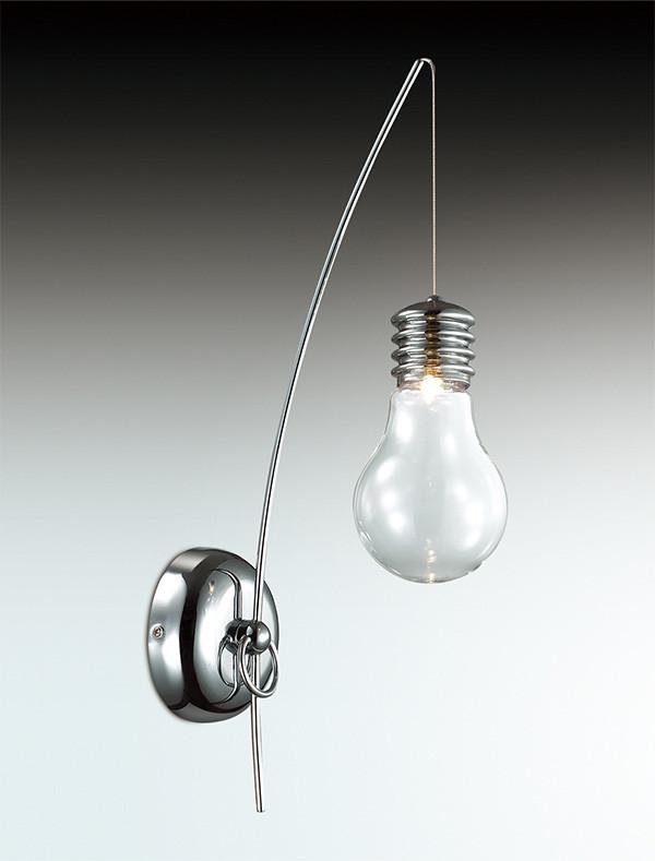 все цены на Odeon Light 2748/1W ODL15 545 хром/стекло Бра G4 35W 12V NORIN онлайн