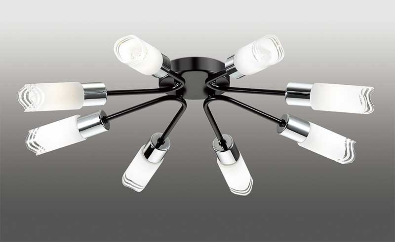 Odeon Light 2790/8C ODL15 448 венге/стекло Люстра потолочная E14 8*40W 220V METIKO metiko odeon 1072653