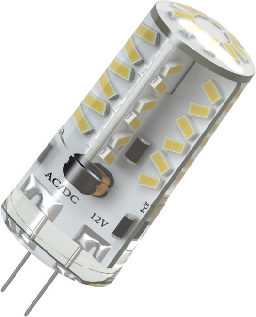 X-Flash Светодиодная лампа XF-G4-57-S-3W-3000K-12V X-flash лампочка x flash spotlight mr16 xf spl l gu5 3 6w 3000k 12v желтый свет линза 43507