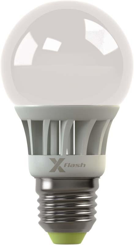 X-Flash Светодиодная лампа XF-E27-A55-A-4W-3000K-220V X-flash лампа x flash светодиодная globe 4 вт xf bf e27 4w 4k 220v