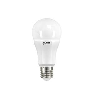 Gauss Лампа LED A60 12W 220-240V 4100K E27 Gauss Elementary gauss лампа gauss elementary led a60 15w e27 4100k 1 10 40