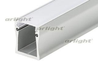 Arlight Профиль с экраном ALU-WIDE-H28-2000 ANOD+FROST