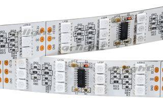 Arlight Лента SPI-5000SE 12V RGB (5060, 600 LED x3,1812) лента arlight 019083