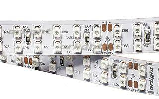 Arlight Лента 5 метров RT 2-5000 24V Red 2x2 (3528, 1200 LED, LUX) arlight лента rt 2 5000 24v s cool 5mm 2x 3528 600led lux