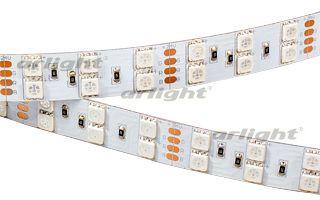 Arlight Лента RT 2-5000 24V RGB 2X2 (5060, 600 LED, LUX) лента arlight 021412