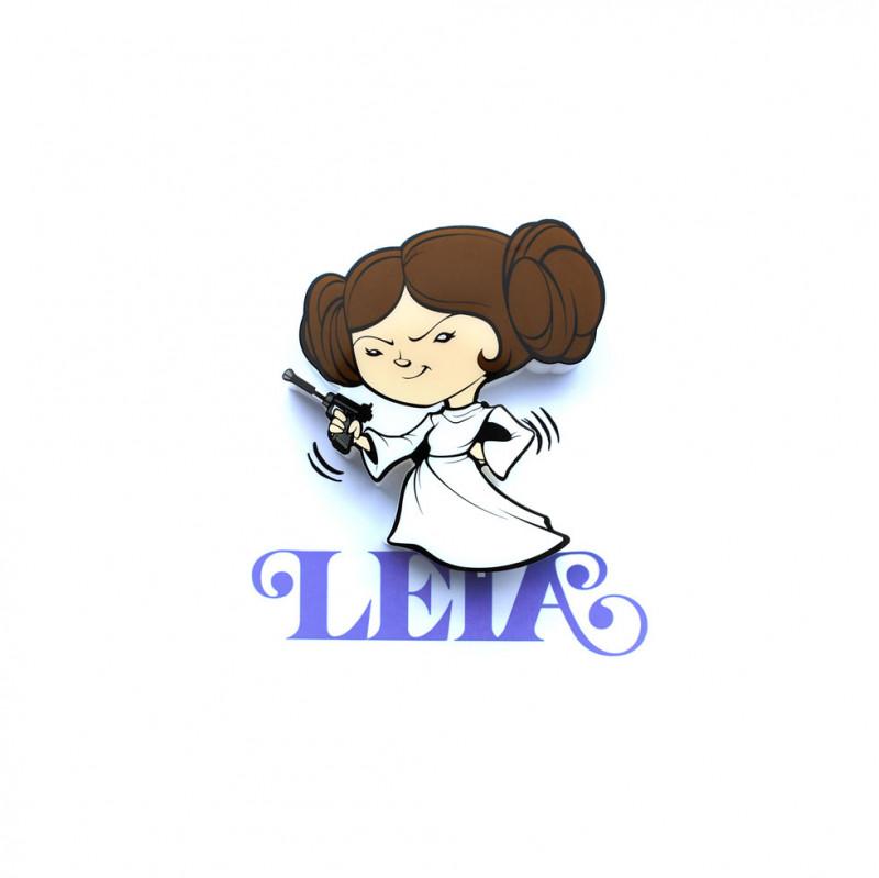 3DLIGHT Светильник ночник детский StarWars (Звёздные Войны)-Leia Organa (Лея Органа-Соло) игровой аксессуар с детскую 3d ночник starwars звёздные войны йода