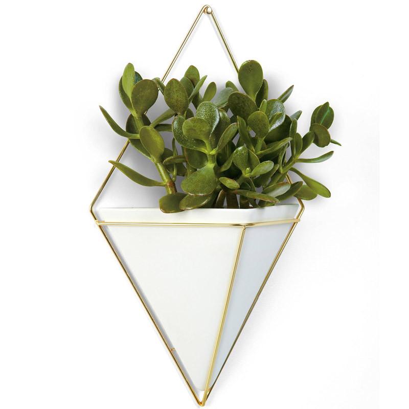 Umbra Декор для стен trigg большой белый-латунь декор для стен