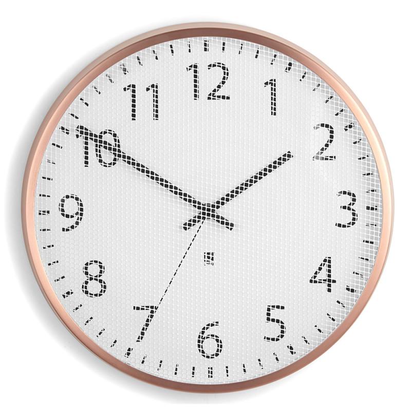 Umbra Часы настенные perftime медь