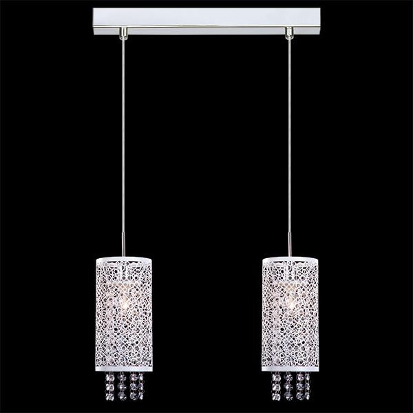 Eurosvet Подвесной светильник с хрусталем 1181/2 хром светильник подвесной eurosvet 1181 2 хром