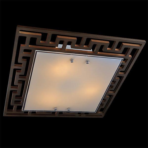 Eurosvet 2870/3 хром/венге eurosvet потолочный светильник eurosvet 2870 3 хром венге