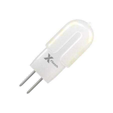 X-Flash Светодиодная лампа X-flash XF-G4-12-P-1.5W-3000K-12V лампа светодиодная x flash xf e27 r90 p 12w 3000k 220v 10шт