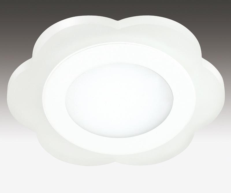 Novotech 357318 NT16 335 белый Встраиваемый светильник IP20 60 LED SMD2835 12W 220V LAGO novotech встраиваемый светильник novotech lago 357318