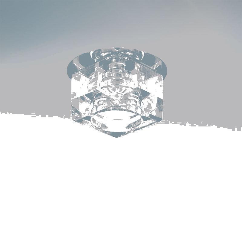 Lightstar 004064 Светильник ROMB MICRO CR G4 ХРОМ/ПРОЗРАЧНЫЙ, шт lightstar romb 004064