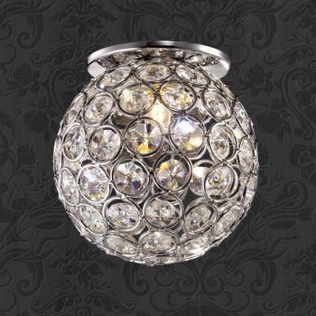Фото Novotech 369738 NT12 182 хром Встраиваемый светильник IP20 G9 40W 220V ELF. Купить с доставкой