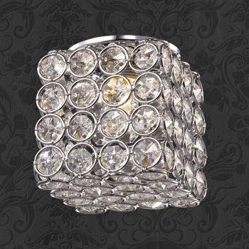 Фото Novotech 369740 NT12 182 хром Встраиваемый светильник IP20 G9 40W 220V ELF. Купить с доставкой