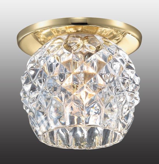 Novotech 369804 NT12 200 золото Встраиваемый светильник IP20 G9 40W 220V NORD novotech встраиваемый светильник nord 369803