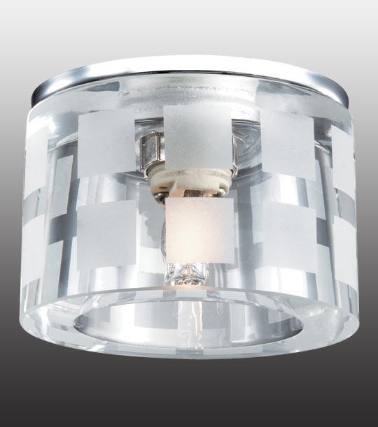 Novotech 369808 NT12 199 хром Встраиваемый светильник IP20 G9 40W 220V NORD novotech встраиваемый светильник nord 369803