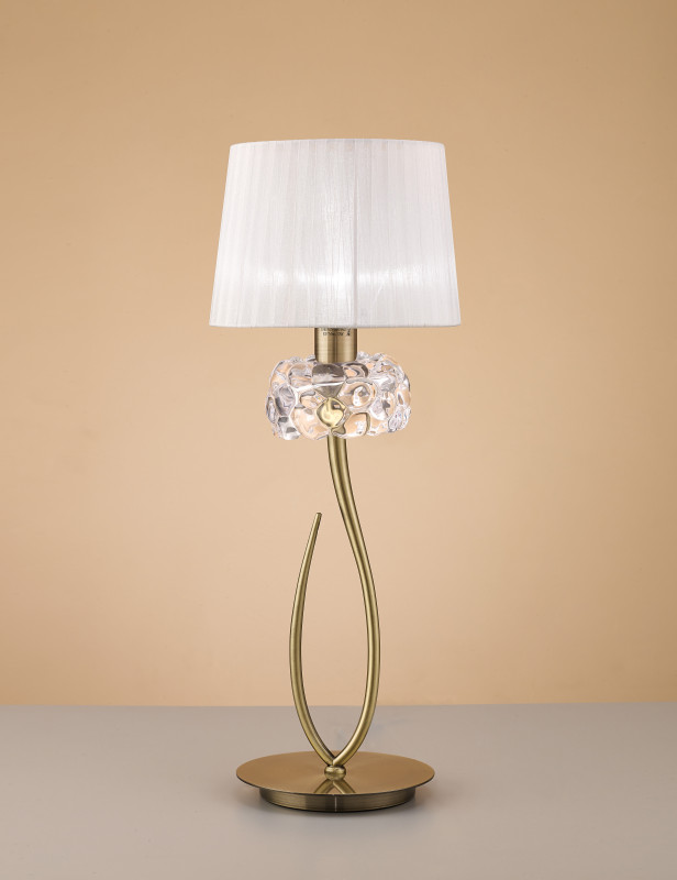 Mantra 4736 настольная лампа mantra loewe 4736