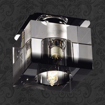 Novotech 369294 NT09 215 черн хрусталь Встраиваемый светильник G9 40W 220V AQUARELLE полотенца банные aquarelle полотенце aquarelle размер 70 140см серия таллин цвет ваниль