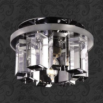 Novotech 369356 NT09 218 хром/прозрачный Встраиваемый светильник IP20 G9 40W 220V CARAMEL 3 ruru15070 to 218