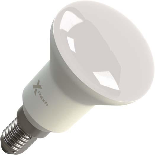 X-Flash Светодиодная лампа XF-E14-R50-P-5W-4000K-220V X-flash