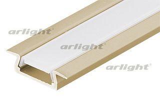 Arlight Алюминиевый Профиль MIC-F-2000 ANOD Champan arlight алюминиевый профиль hr 2000