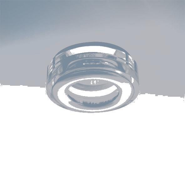 Lightstar 006830 Светильник DIFESA MINI CYL MR16 IP44*  AЛЮМ ХРОМ/ПРОЗРАЧНЫЙ, шт встраиваемый точечный светильник коллекция difesa 070203 хром прозрачный lightstar лайтстар