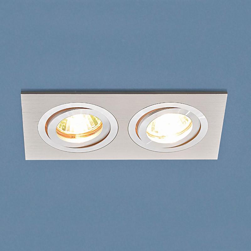 Elektrostandard Точечный светильник 1051/2 WH белый точечный светильник philips led 2 5 3 5w3