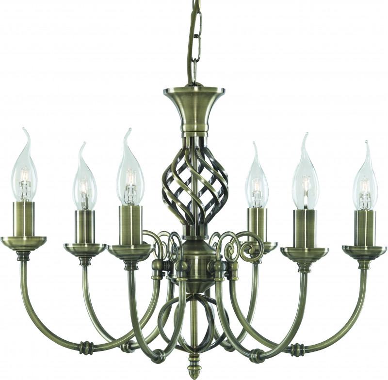 ARTE Lamp A8392LM-6AB люстра потолочная ��оллекция zanzibar a8392lm 6ab бронза arte lamp арте ламп