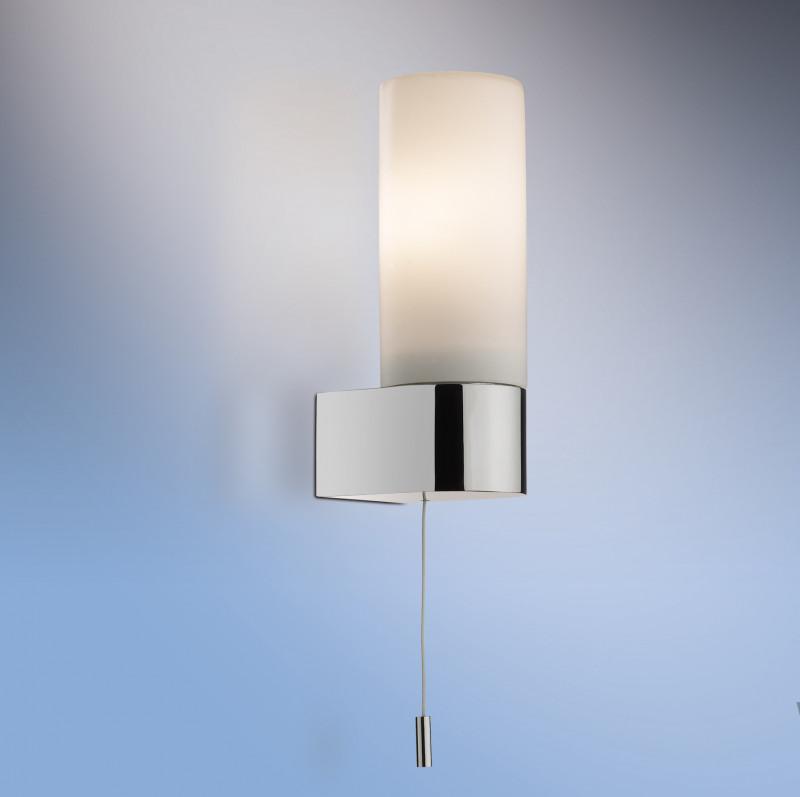Odeon Light 2137/1W ODL11 858 хром Бра с выкл IP44 E14 40W 220V WANT бра 858 01 01 n light