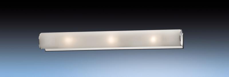 Odeon Light 2028/3W ODL11 829 хром Настенный светильник E14 3*40W 220V TUBE odeon light 2217 3w odl12 815 хром хрусталь подсветка с выкл g9 3 40w 220v loden