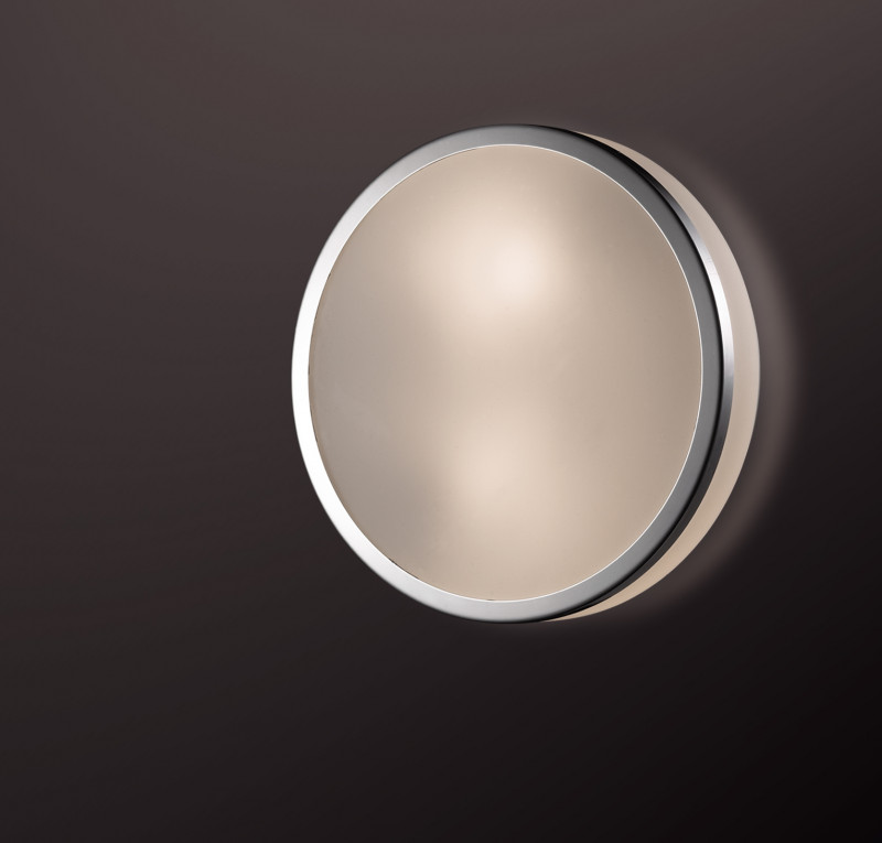 Odeon Light 2177/1C ODL11 885 хром Потолочный светильник IP44 E27 60W 220V YUN