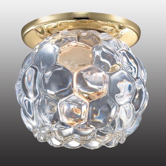 Novotech 369807 NT12 200 золото Встраиваемый светильник IP20 G9 40W 220V NORD novotech встраиваемый светильник nord 369803