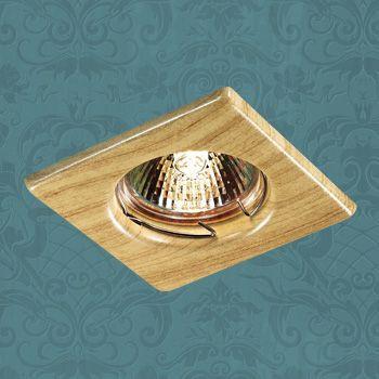 Novotech 369716 NT12 271 светлое дерево Встраиваемый НП светильник IP20 GU5.3 50W 12V WOOD aqwella papyrus wood светлое дерево