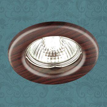 Novotech 369715 NT12 271 темное дерево Встраиваемый НП светильник IP20 GU5.3 50W 12V WOOD novotech 369734 nt12 221 дерево встраиваемый светильник ip20 gu5 3 50w 12v fable