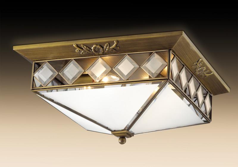 Odeon Light 2544/4 ODL13 351 бронза Потолочный светильник  E14 4*40W 220V MOME стул петроторг 2544 черный