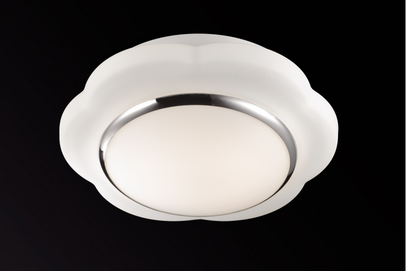Odeon Light 2403/1C ODL13 873 белый Н/п светильник IP44 E27 60W 220V BAHA mystery msf 2403