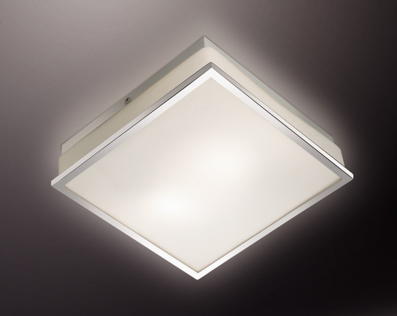 все цены на Odeon Light 2537/1A ODL13 883 хром/стекло Н/п светильник IP44 E27 40W 220V TELA