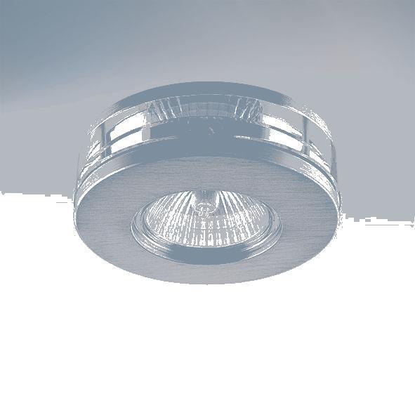Lightstar 002079 (003920) Светильник ALUME CYL LO MR16/HP16 АЛЮМ ХРОМ/ПРОЗРАЧНЫЙ, шт