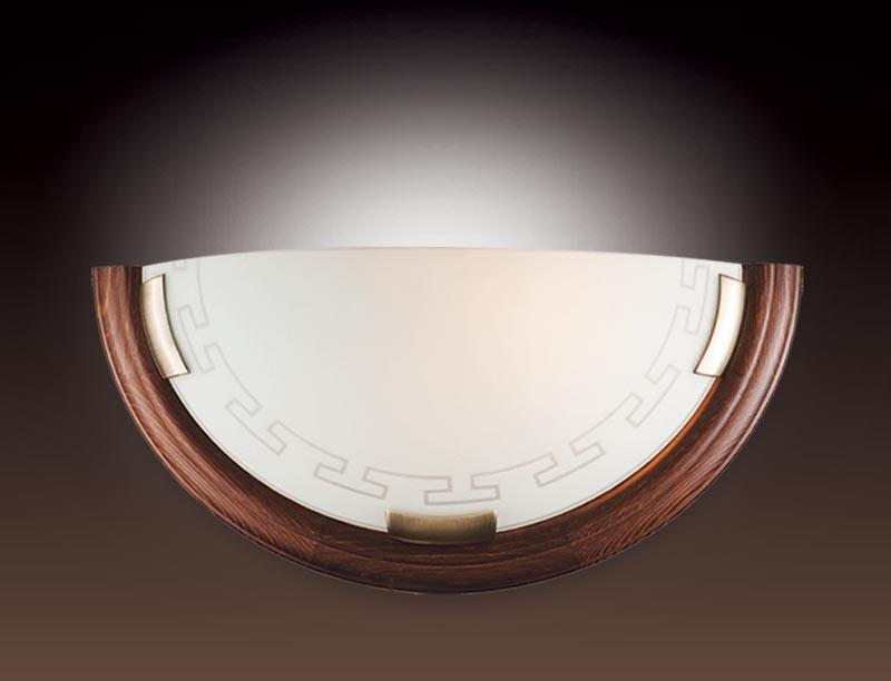 Sonex 060 FB06 051 т орех/бронза Бра E27 100W 220V GRECA WOOD