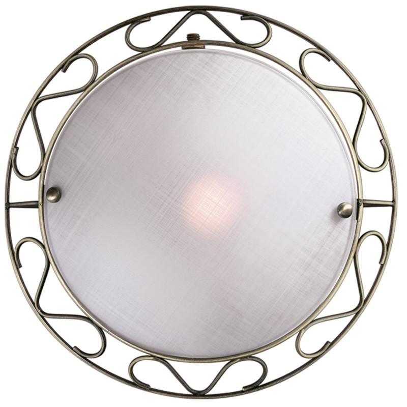 Sonex 1253 FBK09 023 бронза Н/п светильник E14 60W 220V ISTRA накладной светильник sonex istra 1253