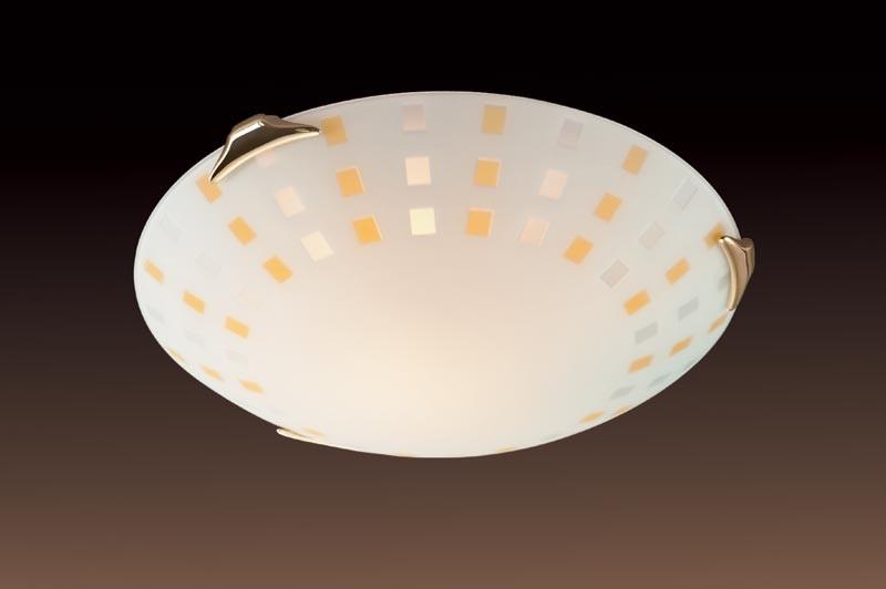Sonex 263 FB06 049 золото Н/п светильник E27 2*100W 220V QUADRO AMBRA настенный светильник sonex floret 049