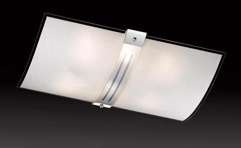 Sonex 6210 FBK06 101 белый/хром Н/п светильник E27 6*60W 220V DECO