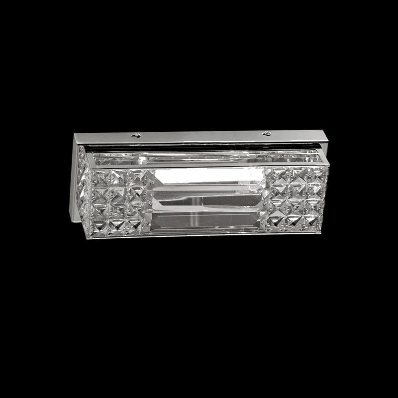 Lightstar 722640 (MB000003-4) Бра LIMPIO 6х20W G4 ХРОМ/ПРОЗРАЧНЫЙ, шт бра жаклин 3х20вт g4 12в беж абажур гальваниз хрусталь