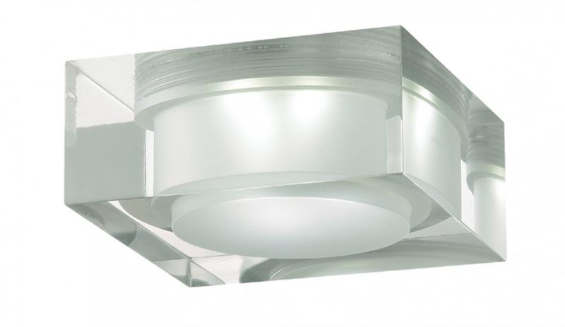 Novotech 357049 NT11 347 хром/белый Встраиваемый НП светильник IP20 6LED 6*1W 220V EASE