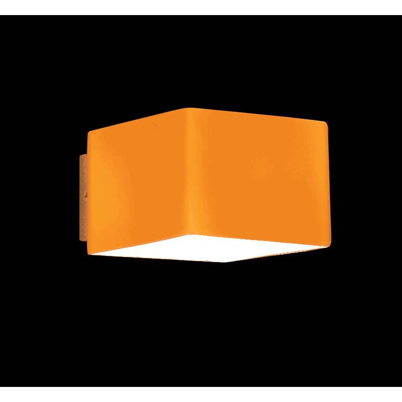 Lightstar 801613 (MB328-1SO) Светильник настенный PEZZO 1х40W G9 ХРОМ/ЯНТАРЬ, шт pezzo юбка pezzo pnlpp21671 160p