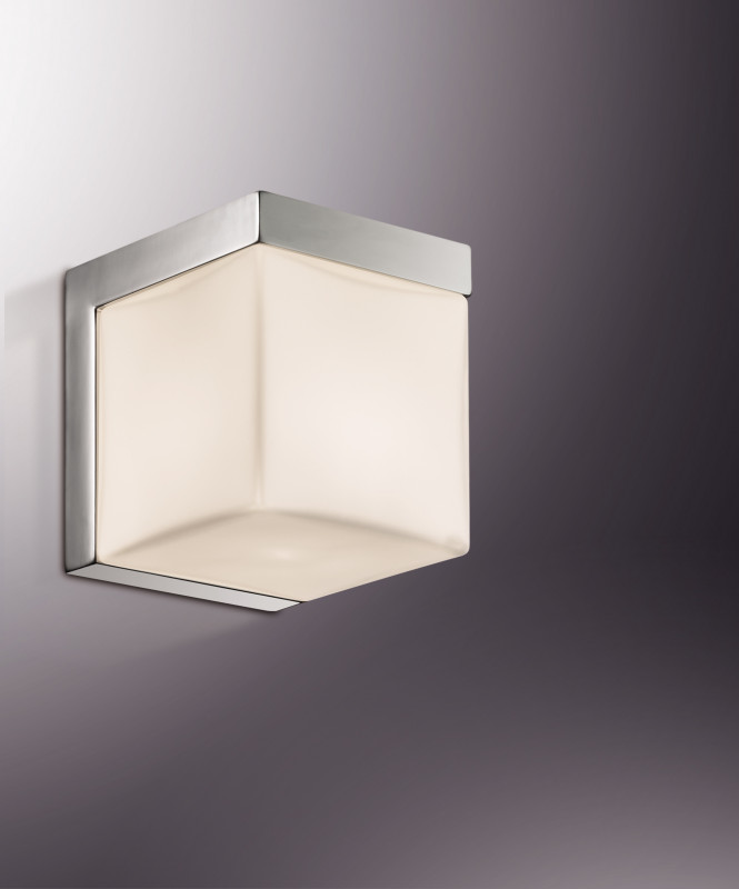 все цены на Odeon Light 2250/1W ODL12 857 хром/стекло IP44 Бра  G9 40W 220V LINK онлайн