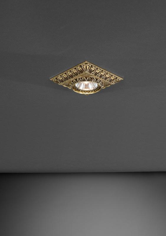 Reccagni Angelo SPOT 1083 ORO встраиваемый светильник reccagni angelo spot 1083 oro